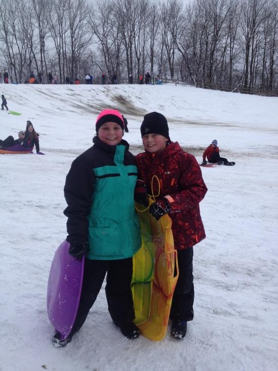 Here's to safer sledding!